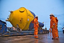 The CorPower C3 Wave Energy Converter has been delivered to Orkney, Scotland where it will be deployed at the European Marine Energy Centre's (EMEC) Scapa Flow site.
