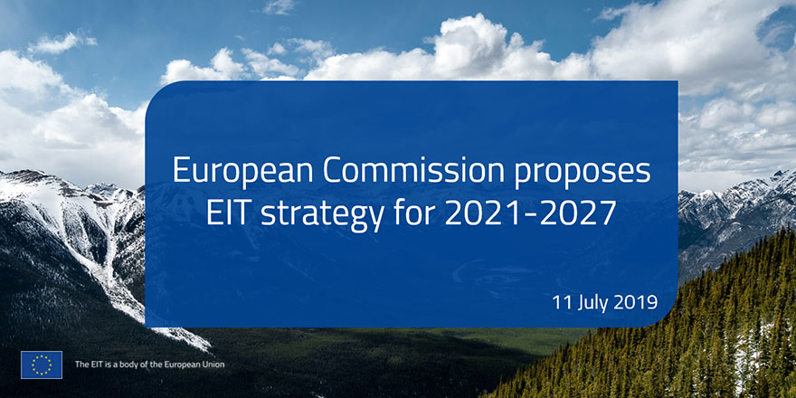 EIT Strategic Innovation Agenda for 2021-2027