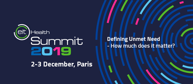 EIT Health Summit 2019: Where Collective Ideas Transform the Future of Healthcare