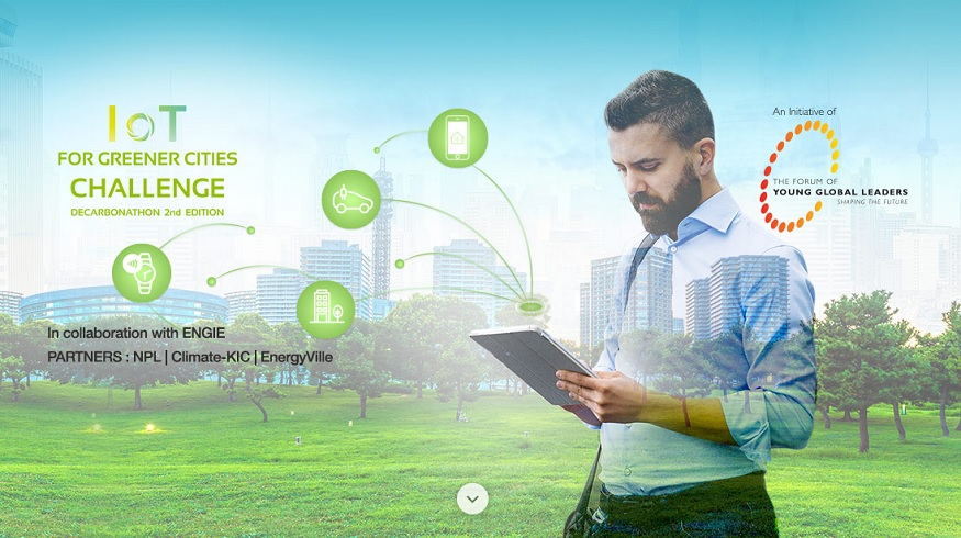 EIT Climate-KIC/ENGIE Hackathon 2017: IoT for Greener Cities