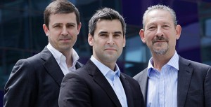 Naked Energy's Christophe Williams (middle)