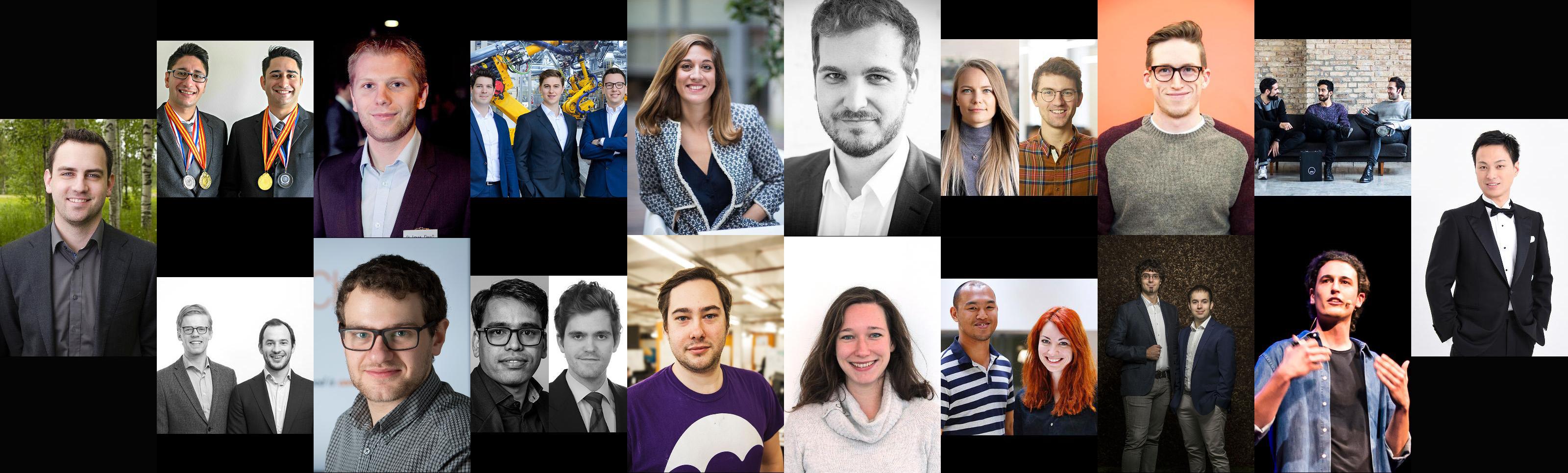 Forbes Europe 30 under 30 list EIT collage