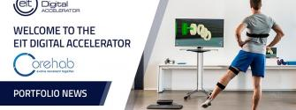 CoRehab joins EIT Digital Accelerator