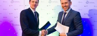 Lithuanian Minister of Energy Žygimantas Vaičiūnas and EIT InnoEnergy Central Europe CEO Jakub Miler signed a cooperation agreement
