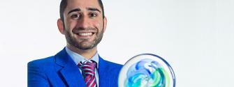 EIT CHANGE Award winner Allen Mohammadi