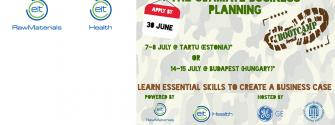 EIT Health EIT Raw Materials bootcamps