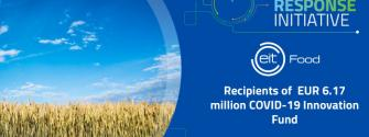 EIT Food announces recipients of €6.17 million COVID-19 Innovation Fund