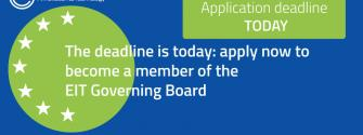 Call for Expressions of Interest to select five new members of the EIT Governing Board