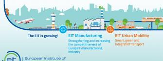 EIT Manufacturing + EIT Urban Mobility