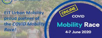 EIT Urban Mobility is proud partner of the COVID Mobility Race 2020