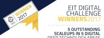 EIT Digital Challenge winners 2017