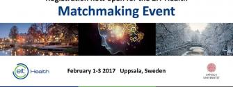EIT Health matchmaking event Uppsala
