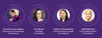 EIT RawMaterials empowers women and girls to launch careers in science and innovation