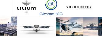 The EIT takes to the skies with Lilium and Volocopter
