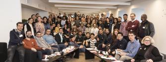 Migrants workshop group photo