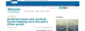 Horizon magazine features EIT Climate-KIC
