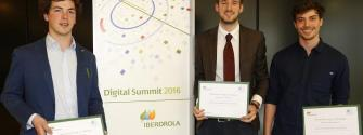KIC InnoEnergy stdents win 2nd place in Iberdrola Challenge