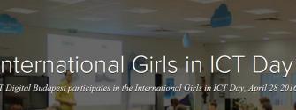 EIT Digital - inspiring the next generation during 'Girls in ICT Day'
