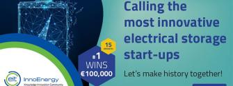 EIT InnoEnergy call electrical storage