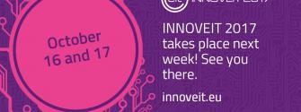 INNOVEIT takes place next week - see you there