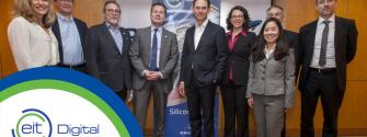 European Commission Vice-President Jyrki Katainen visits EIT Digital Silicon Valley hub and discusses Europe's AI Strategy