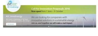 KIC InnoEnergy Call for Innovation Proposals