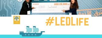 LEDLife, a project by LEDsafari and EIT Alumni, spearheaded by 2015 EIT Awards Winner Govinda Upadhyay, just won 20,000 USD in the finals of the Innovate for Refugees Competition organised by the MIT Enterprise Forum, Pan Arab Region.