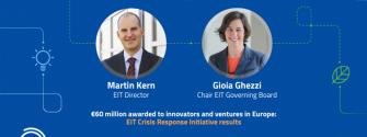 Watch the second EIT Press Briefing: EIT Crisis Response Initiative delivers results