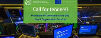 Procurement opportunity at the EIT: Communications and Event Organisation Services