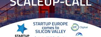 EIT Digital Scaleup Call - Startup Europe comes to Silicon Valley 2017