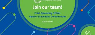 Come work with us! Two vacancies at EIT Headquarters