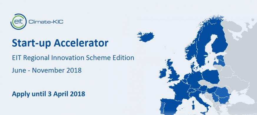 EIT Climate-KIC Accelerator for EIT Regional Innovation Scheme countries