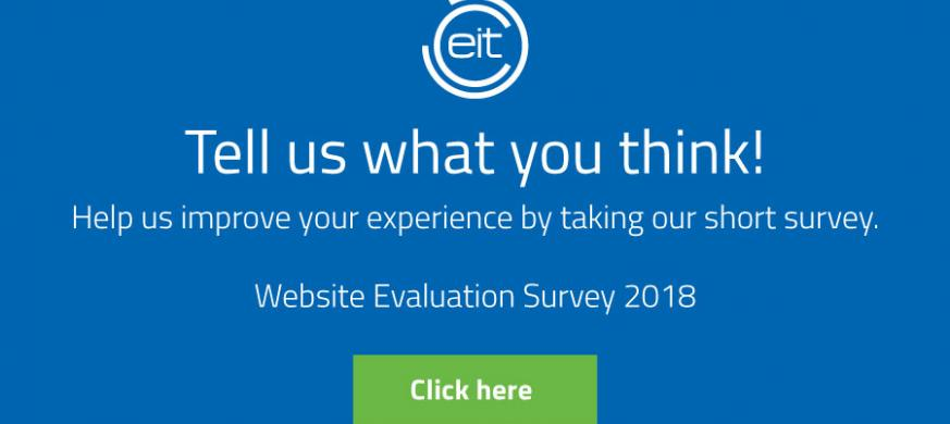 EIT 2018 website survey