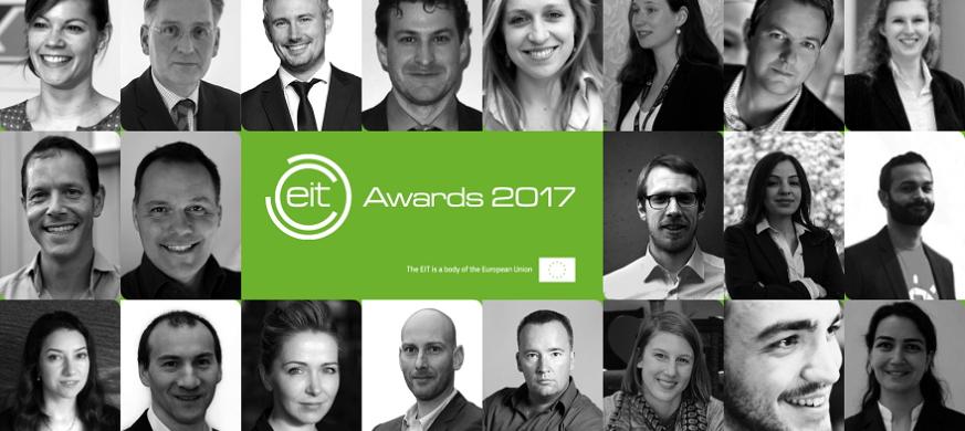 EIT Awards 2017 nominees collage