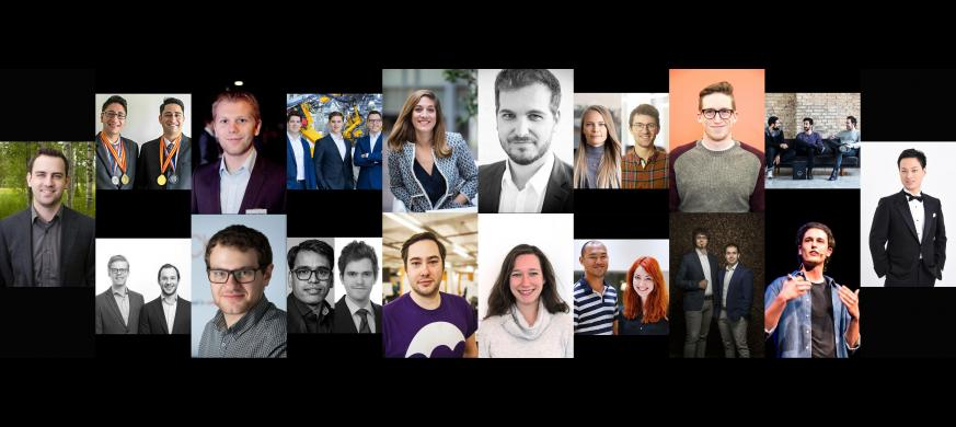 Forbes Europe 30 under 30 list EIT collage