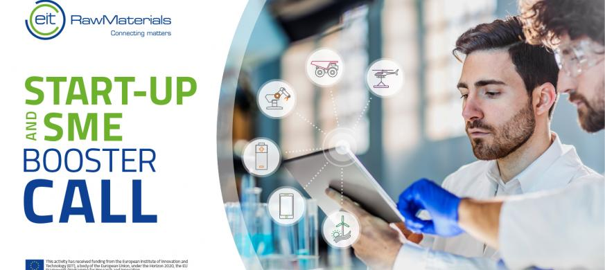 EIT Raw Materials Start-up and SME Booster Call 2018
