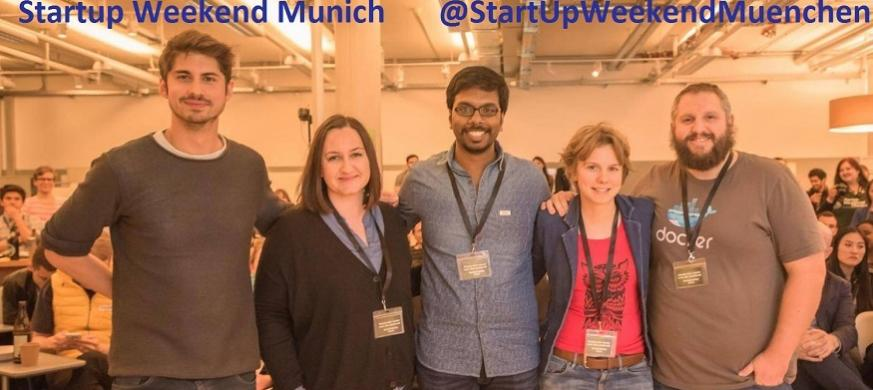 EIT InnoEnergy ENTECH student wins at this year's Startup Weekend Munich
