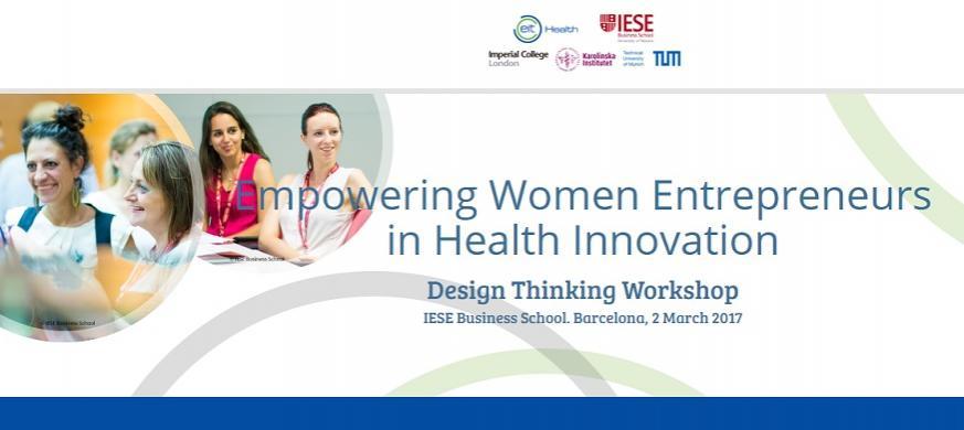 Empowering Women Entrepreneurs in Health Innovation ...