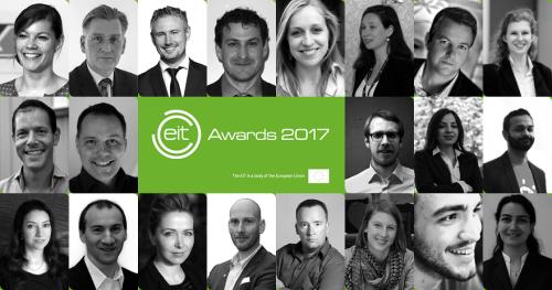 EIT Awards 2017 nominees collage
