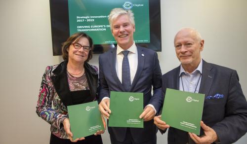 Martine Reicherts, Willem Jonker, Michał Boni