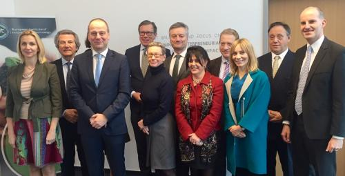 Commissioner for Education, Culture, Youth and Sport, Tibor Navracsics, joined the EIT Governing Board at the EIT Headquarters in Budapest