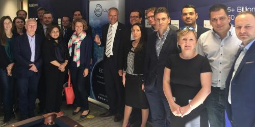 EIT Digital welcomes delegation of MEPs to its Silicon Valley hub