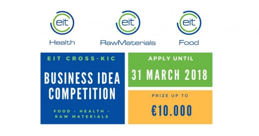 EIT Cross-Innovation Community Business Idea Competition 2018