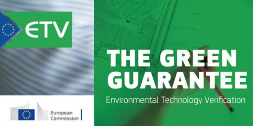 EU Environmental Technology Verification (ETV) and EIT RawMaterials for a clean and circular economy