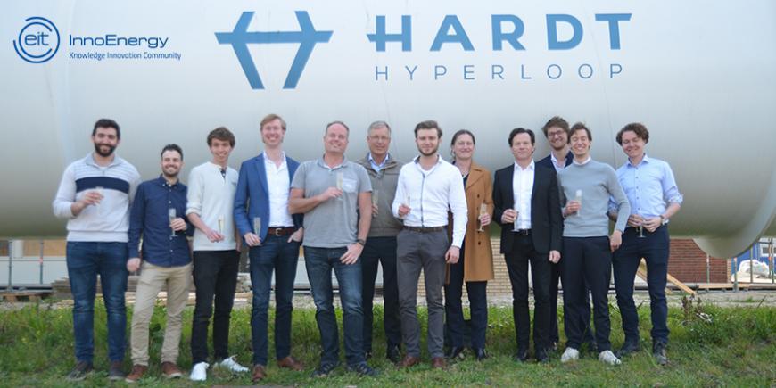 EIT InnoEnergy Hardt Hyperloop