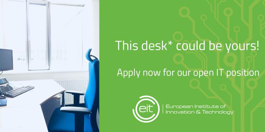empty chair at the EIT in Budapest