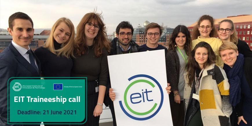 Call for the next EIT trainees: applications open