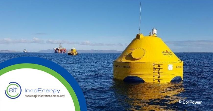 EIT InnoEnergy supported start-up CorPower raises €8.2M for full scale demonstration