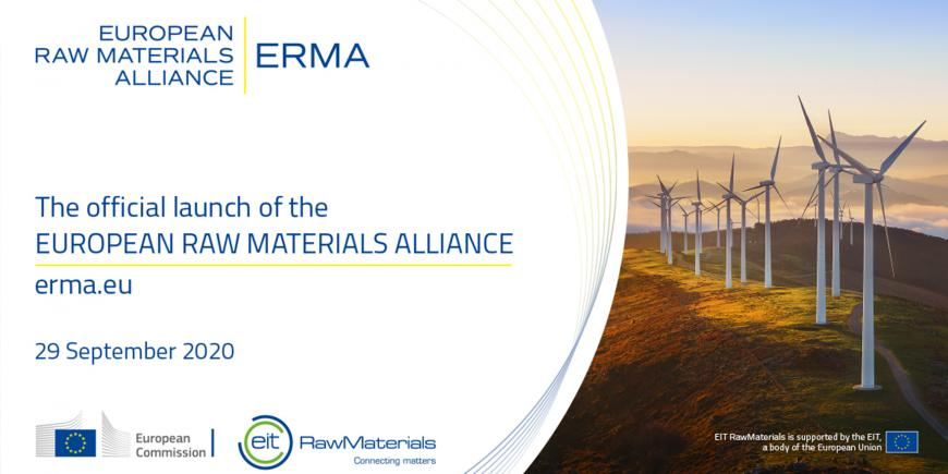 EIT RawMaterials will manage newly launched European Raw Materials Alliance (ERMA)