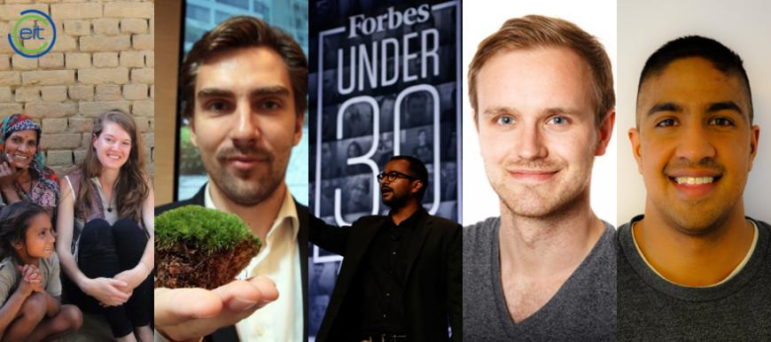 Five from EIT on Forbes' 30 Europe list